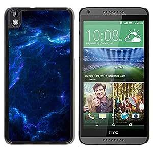 Be Good Phone Accessory // Dura Cáscara cubierta Protectora Caso Carcasa Funda de Protección para HTC DESIRE 816 // Space Galaxy