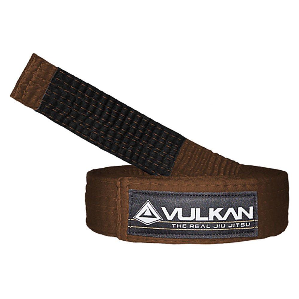 Vulkan Fight Company Brazilian Jiu Jitsu, Bjj Belt For Martial Arts Sports, Brown, A5 by Vulkan