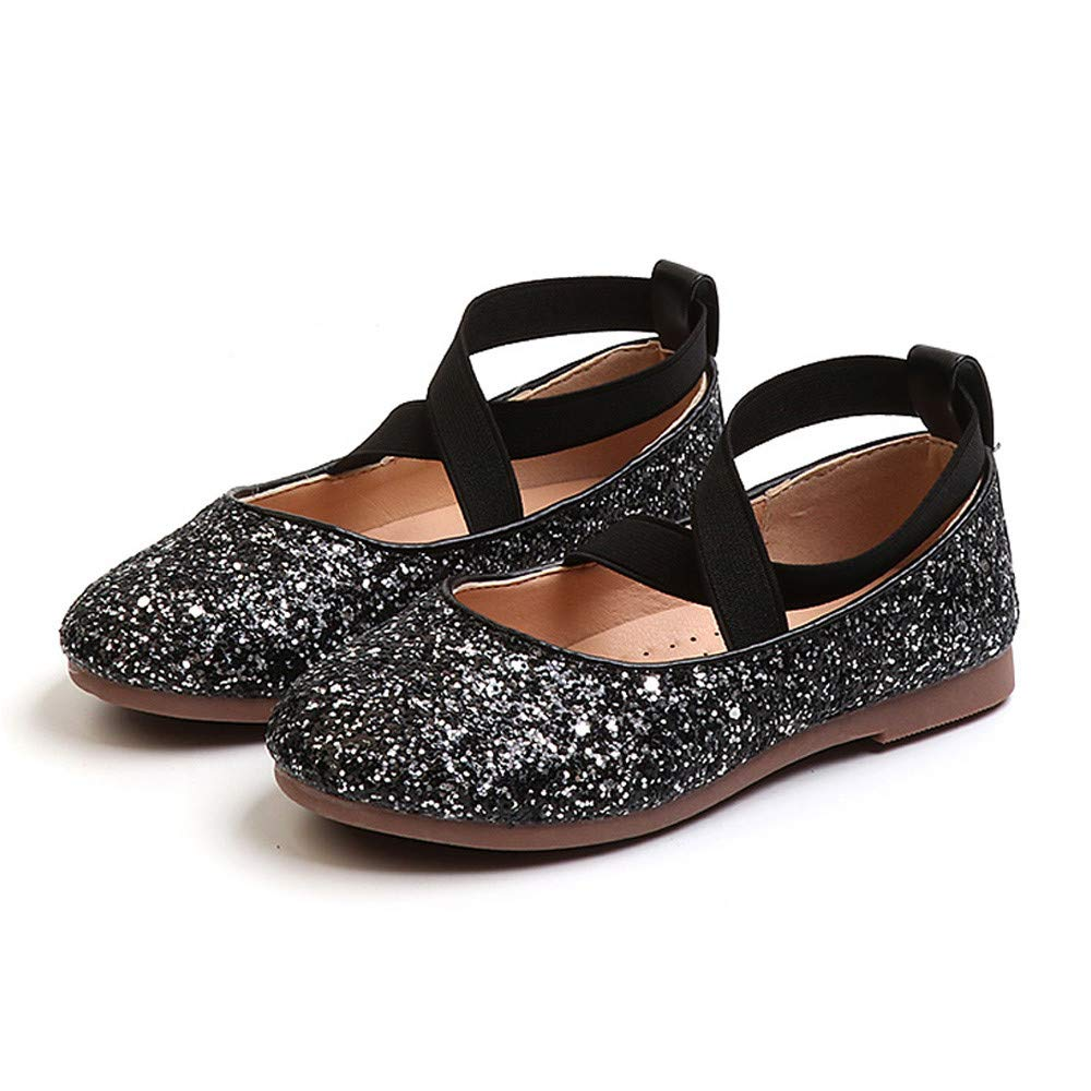 e069a12c0bf25 Yamally 3.5T-8.5T Kids Baby Infant Toddler Girls Sequins Bling Princess  Shoes Dancing Shoes