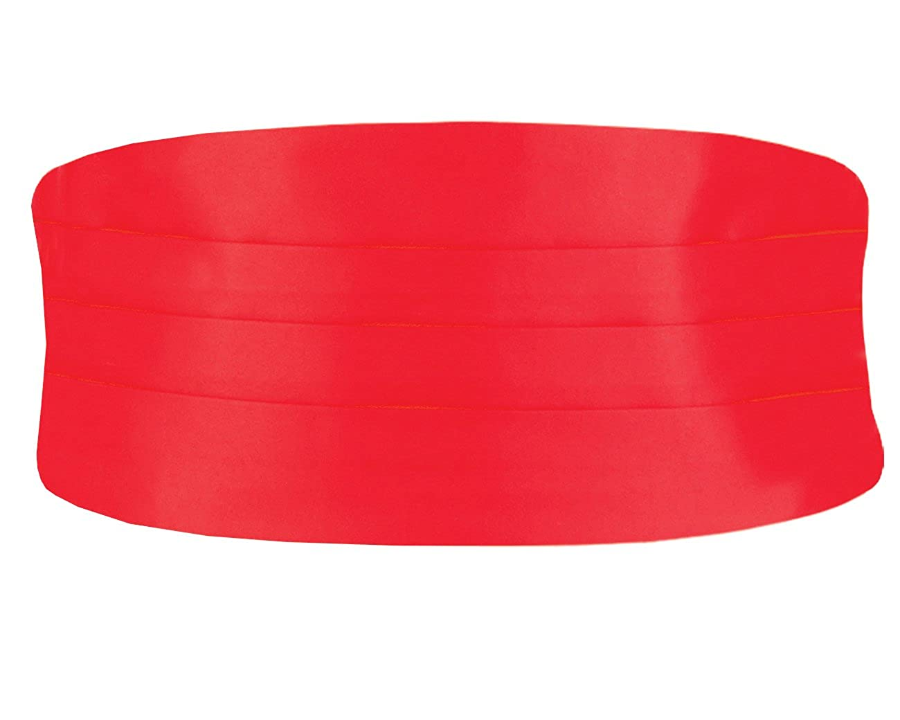Dobell Mens Red Cummerbund