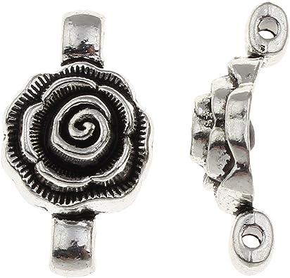 10 Tibet Silber Metall Anhänger Binderinge Verbinder
