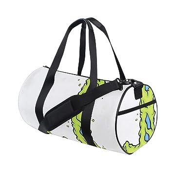 Reopx Zip Tote Bag Free Happy English Letter J Yoga Gym ...