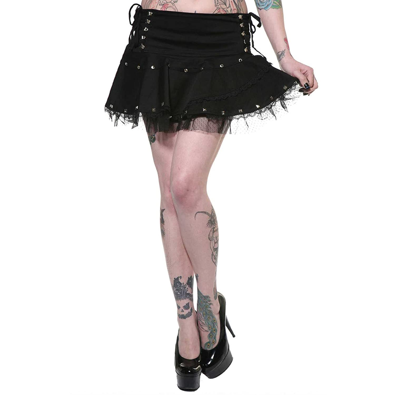 Jawbreaker Skirt LOLITA SKIRT 6210 black XL