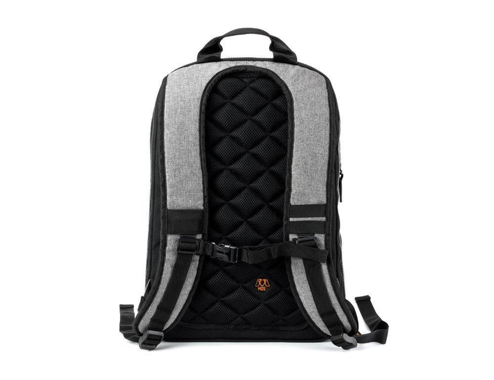 MOS Pack, The Backpack You Plug In to Charge Everything - NO MOS Reach+ Included, Granite by MOS (Image #3)