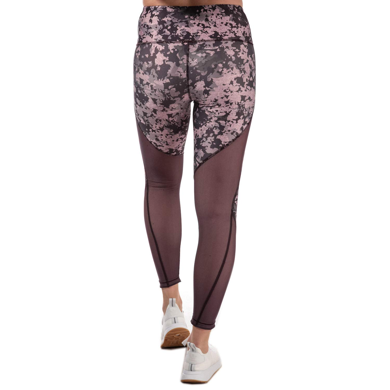 8064956ffc39da Amazon.com: Under Armour Women's HeatGear Amour Print Ankle Crop Tights 4-6  Purple: Under Armour: Clothing