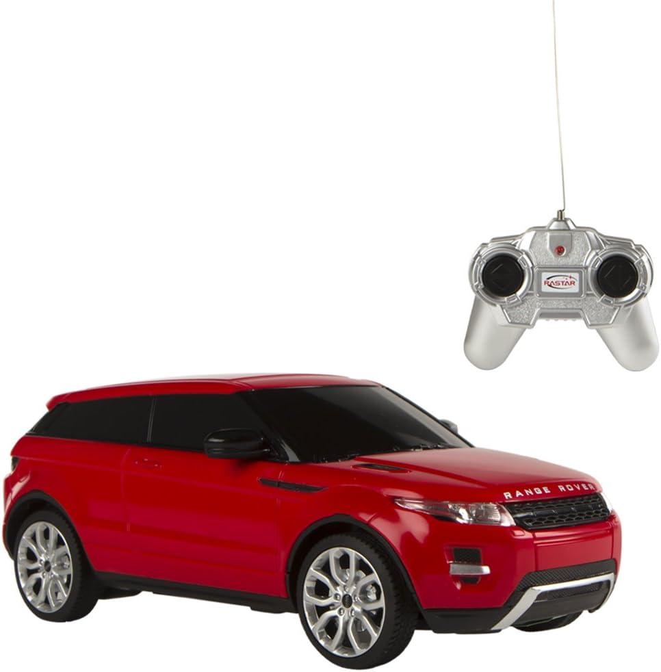 Rastar - Coche teledirigido 1:24 Range Rover Evoque, Rojo (75896 ...