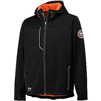 Helly Hansen Workwear 74012 - Chaqueta soft shell, color negro, talla XS