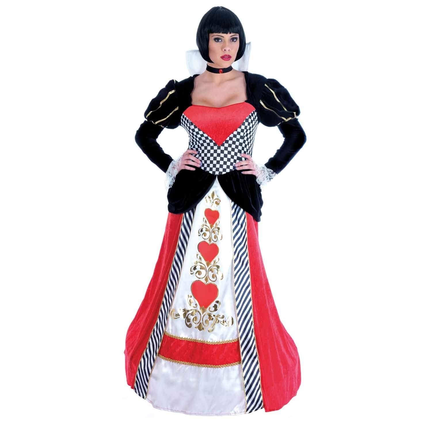Fun Shack Roja Reina De Corazones Disfraz para Mujeres - M: Amazon.es: Juguetes y juegos