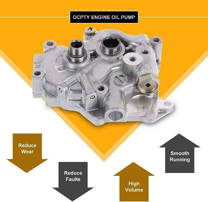 FINDAUTO Engine Oil Pump Fit for M122 1983-1984 Chrysler E Class 1985 Chrysler Executive Limousine 1983-1984 Chrysler Executive Sedan 1982-1985 Chrysler LeBaron