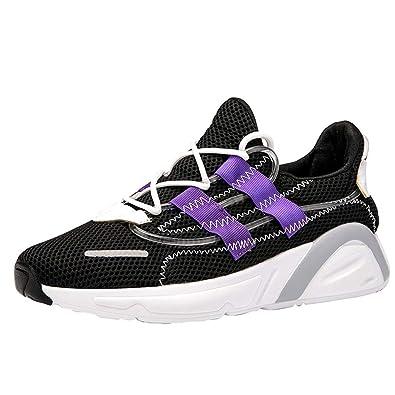 Herrenmode ML009 SG D Sneaker Herren Grau lila MB00108
