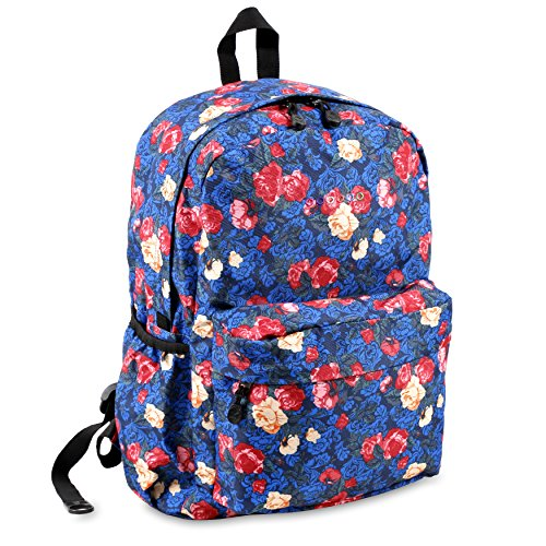 J World New York Oz Backpack, Vintage Rose