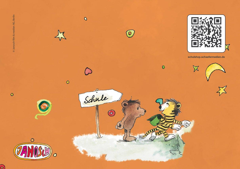 Schreiblernhefte A5 quer mit mit mit lustigem JANOSCH-Motiv »Fröhliche Schulstunde« Lineatur SL (32 Grün, 16 Hefte) B07FQFP4NR | Am praktischsten  | Ruf zuerst  | Sonderkauf  53bc6c