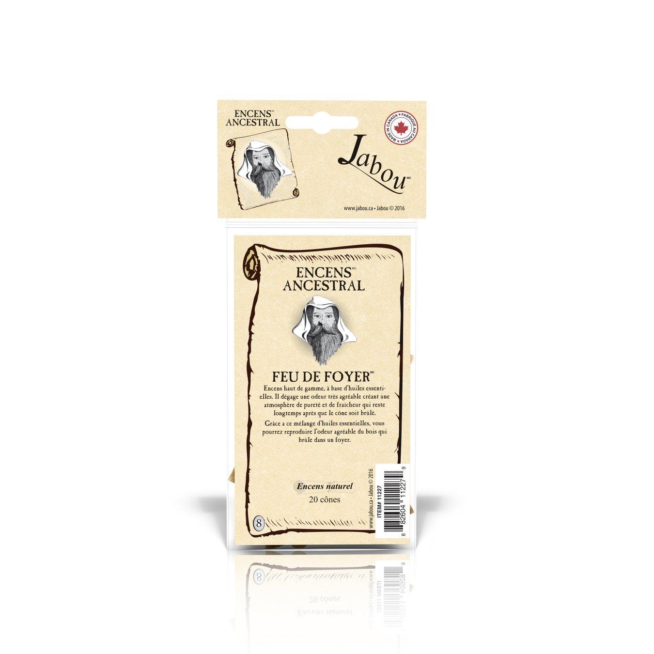 Jabou Ancestral スーパーSALE セール期間限定 100%天然お香 コーン - 日本全国 送料無料 12個のアロマ 瞑想 ヨガ リラクゼーション Place ヒーリング 儀式 B07D25SRCN 20個のコーン マジック 各30分以上持続 祈り Fire
