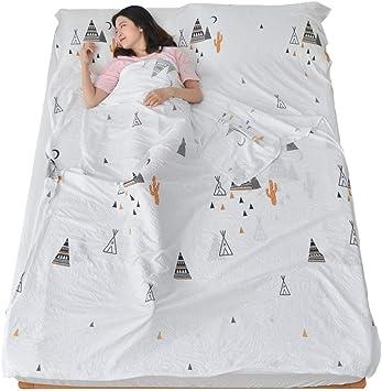 Algodón Saco de Dormir Viajar Hotel a través de Saco de Dormir ...