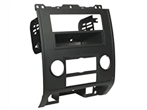SCOSCHE FD1436BLKB 2008-12 Ford Escape/Mercury Mariner/Mazda Tribute (Black) Double DIN or DIN w/Pocket Install Dash Kit