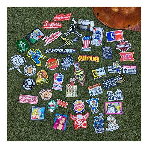 (40+) Scaffolder Hard Hat Stickers Hardhat Sticker & Decals, Scaffold Carpenter by Unknown (Image #7)