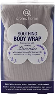 Aroma Home Soothing Body Wrap Lavender