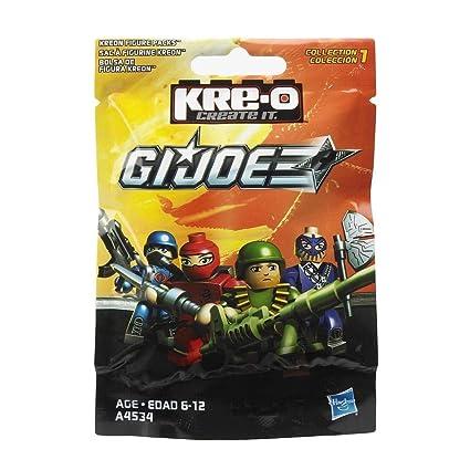 Kre-O, GI Joe, Kreon Figure Packs Collection 2 (Characters May Vary)