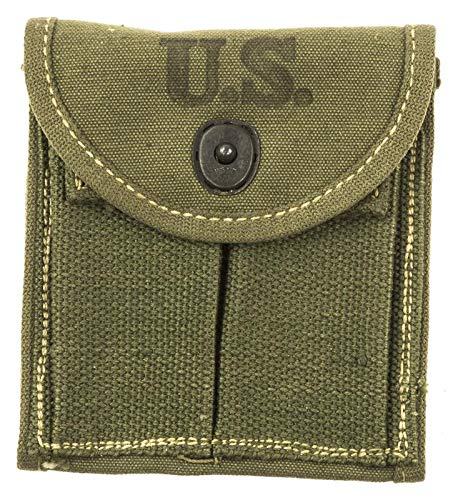 Numrich U.S. Military M1 Carbine Magazine Stock Pouch for sale  Delivered anywhere in USA