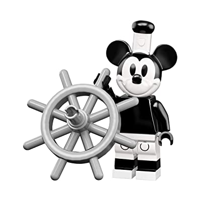 LEGO Disney Series 2 Collectible Minifigure - Vintage Mickey (Sealed Pack) 71024: Toys & Games