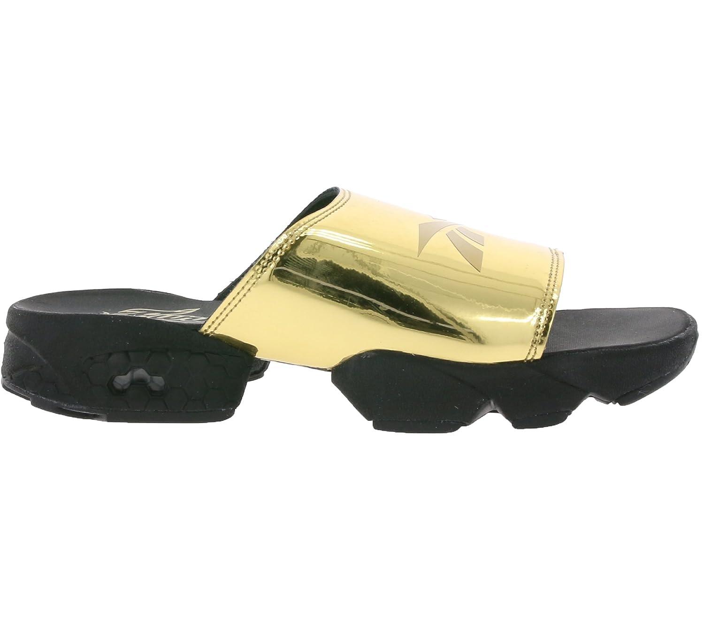 647dbb4e4 Reebok Classic Fury Slide Magic Hour Women s Sandals Black BD3188   Amazon.co.uk  Shoes   Bags