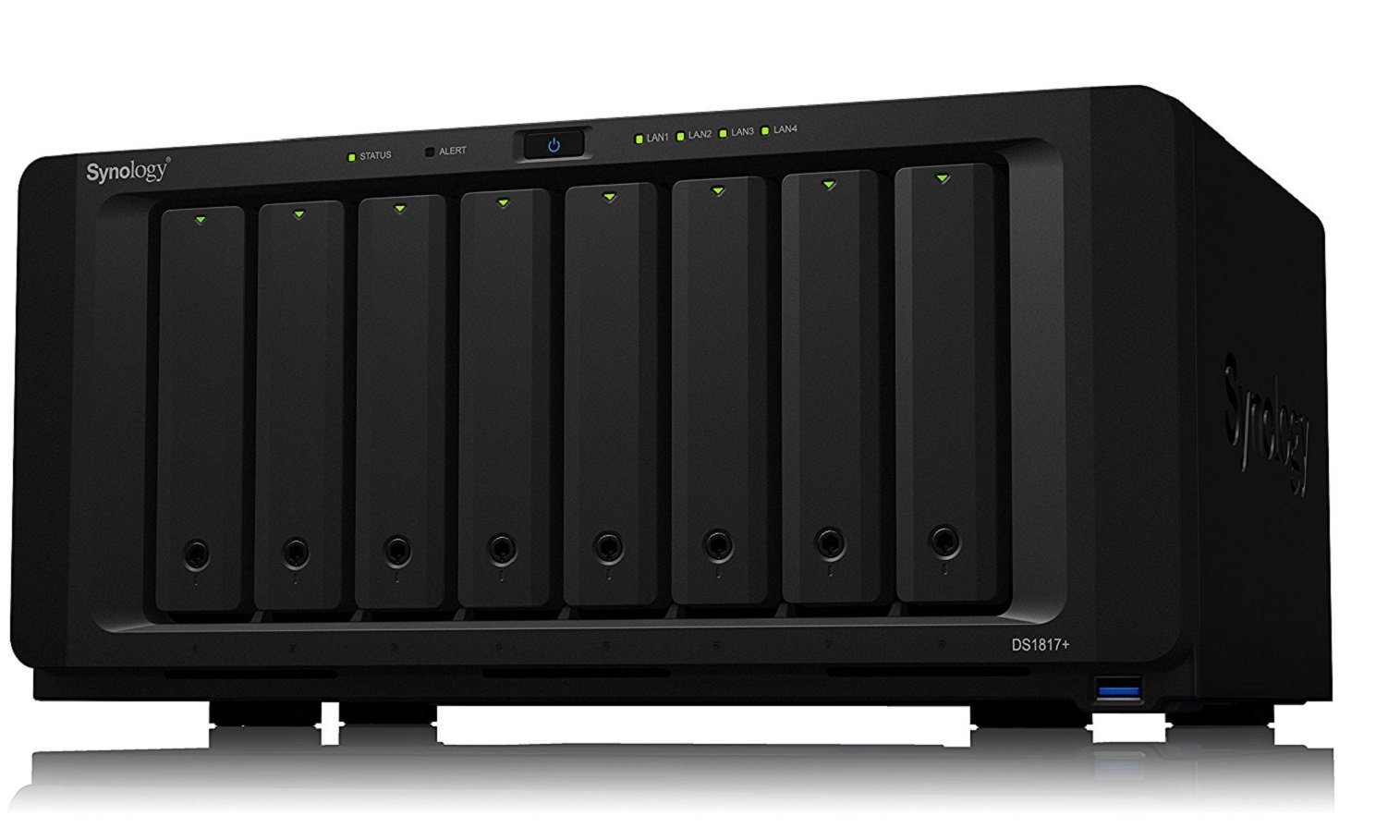 Synology DS1817+ (8GB) 8 - bay NAS Disk Station (Diskless) by Synology (Image #3)