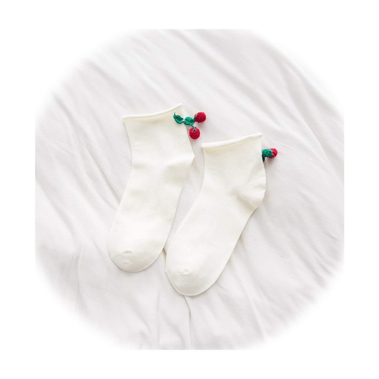 Amazon.com: Calcetines de mujer Kawaii japoneses de fruta ...