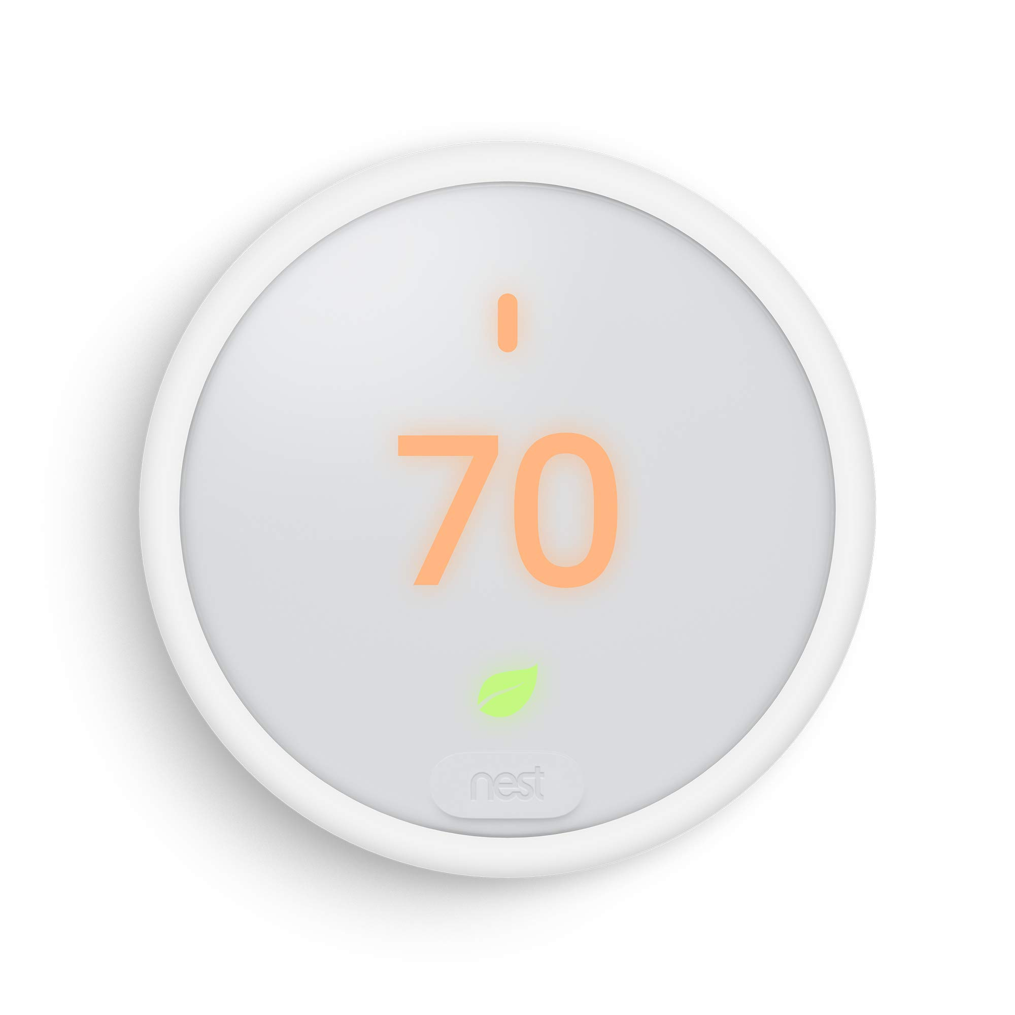 Google, T4000ES, Nest Thermostat E, Smart Thermostat, White by Google