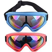 anteojos de protección táctico máscara de, PELEUSTECH 2pares para Nerf Guerra, Type 9, 2 piezas