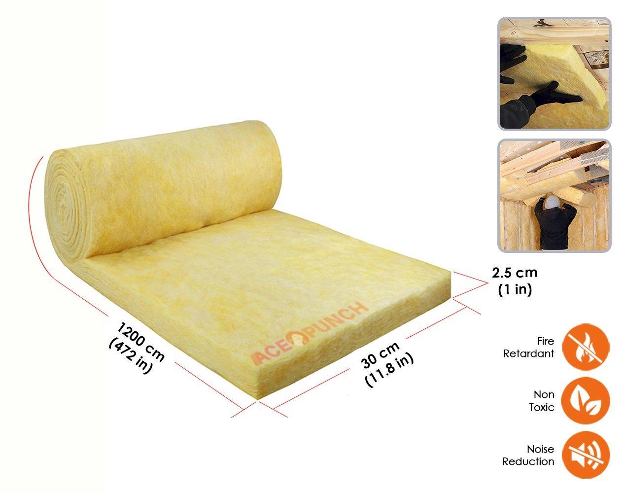 Acepunch Coche Espuma Aislante de Calor Aislamiento Té rmico Acú stico Impermeable Hidró fugo Sonido 7mm Grueso AP1149
