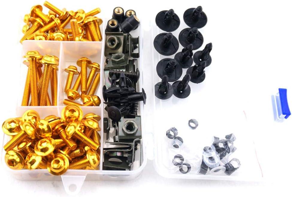 CNC Alloy Complete Fairing Bolt Kit Screws M5 M6 For Suzuki GSXR GSX R 600 750 K11 2014-2017
