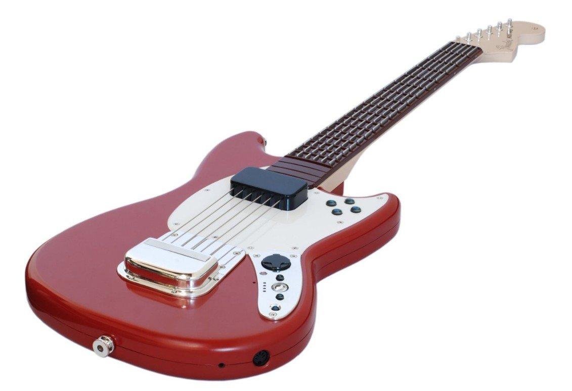 Rock Band 3 Wless Fen. Must. Proguitar Rojo: Amazon.es: Videojuegos