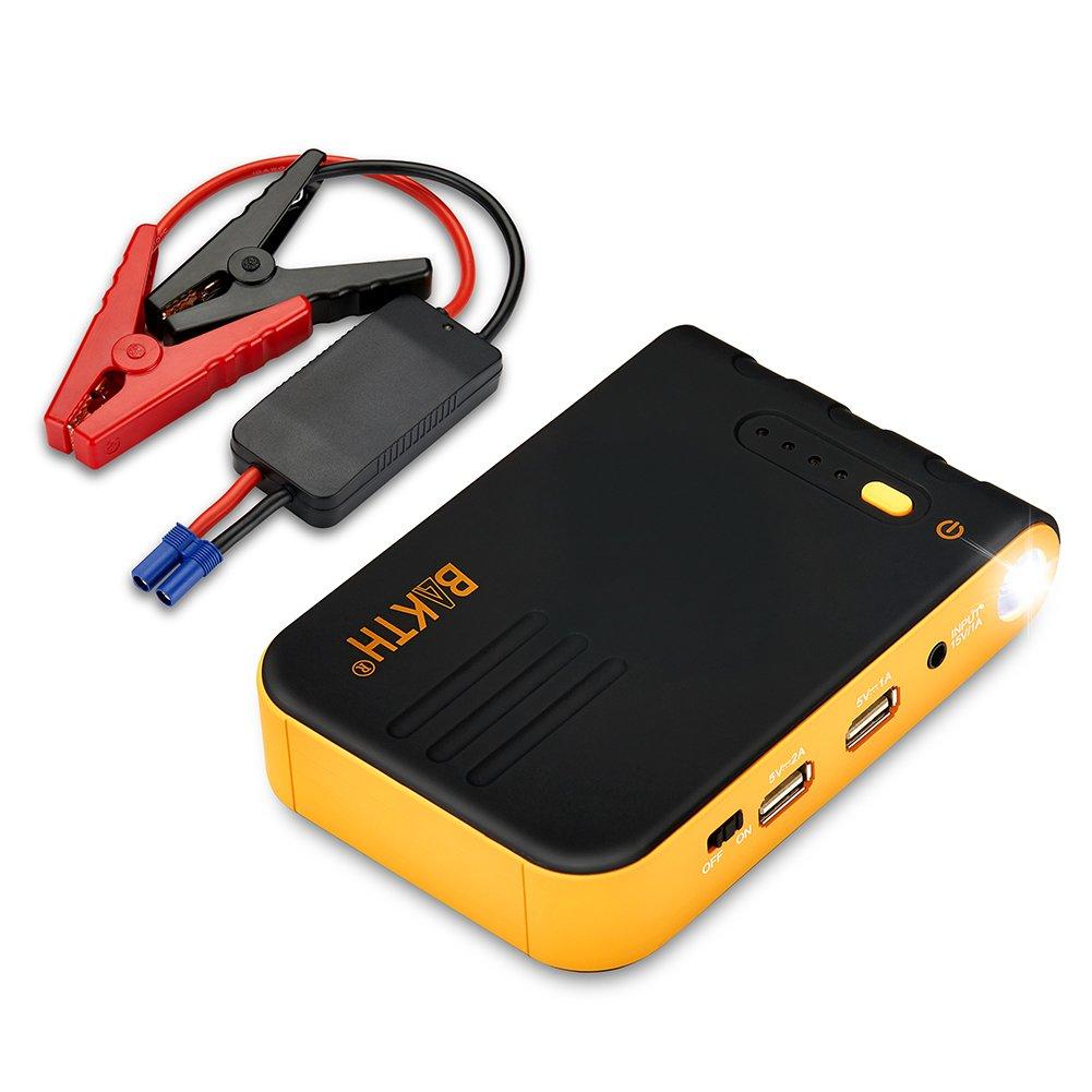 BAKTH Jump Starter de mAh A Batería Arrancador de Coche Batería Externa