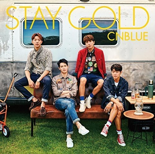 CD : CNBLUE - Stay Gold: Version A (Limited Edition, With DVD, Japan - Import, 2PC)