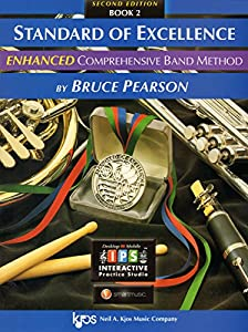 Paperback PW22TM - Standard of Excellence Enhanced Book 2 - Timpani & Auxiliary Percussion Book