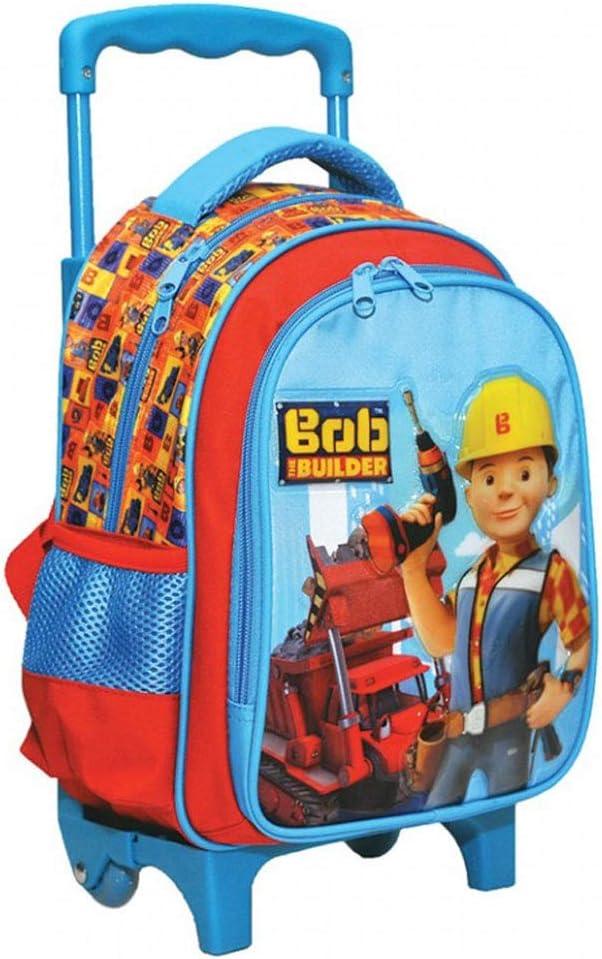 Sac a dos Cartable /à roulettes pour l/école maternelle 349-0072 Bob The Builder Disney