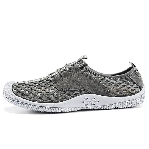 Zapatos de Malla Transpirable de los Hombres/zapatillas de Deporte de Malla/ Zapatos Casuales