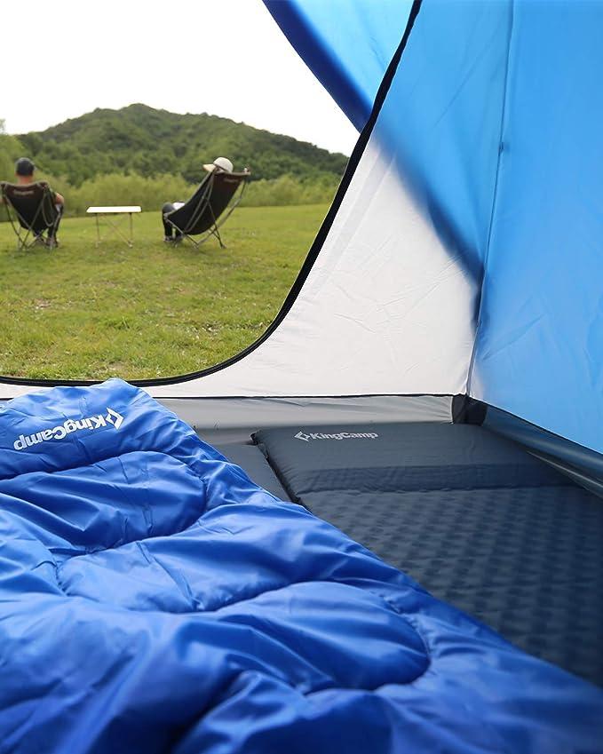 KingCamp Light - Colchoneta de Camping autoinflable con Almohada ...