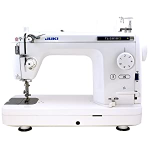 Juki TL-2010Q 1-Needle, Lockstitch, Portable Sewing Machine with Automatic Thread Trimmer for Quilting,