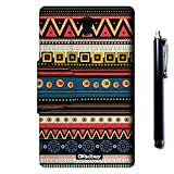 Galaxy Tab S 8.4 SM-T700 Case, OkSoBuy(R) Stand Case Premium Oracle bone script Leather Case Smart Cover with Card Slots For Samsung Galaxy Tab S 8.4 SM-T700(aztec tribal Ethnic style)