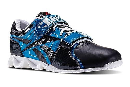 Reebok Crossfit Lifter Plus - Zapatillas para deportes de exterior para hombre azul azul-negro, color azul, talla 43: Amazon.es: Zapatos y complementos