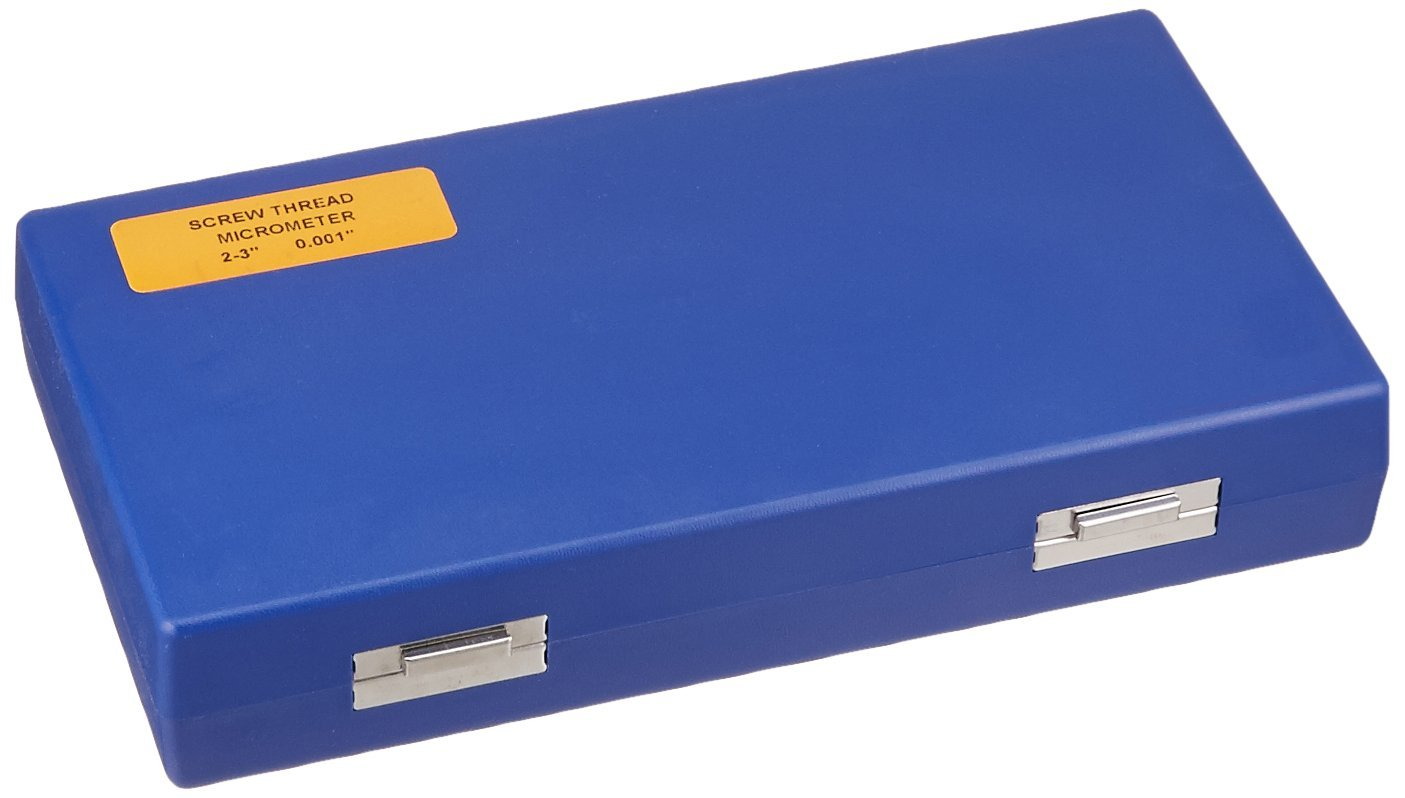 2-3//0.001 Graduation HHIP 4200-0228 Screw Thread Micrometer Kit