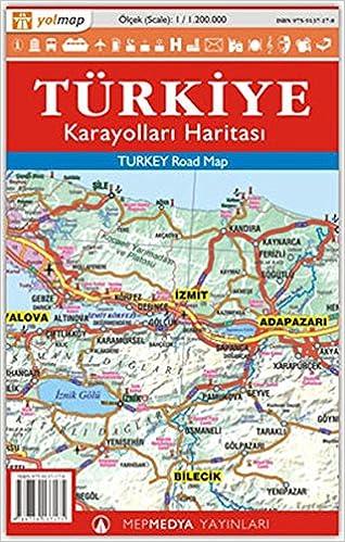 Türkiye Karayolları Haritası Mepmedya Yayınları Kolektif Amazoncomtr