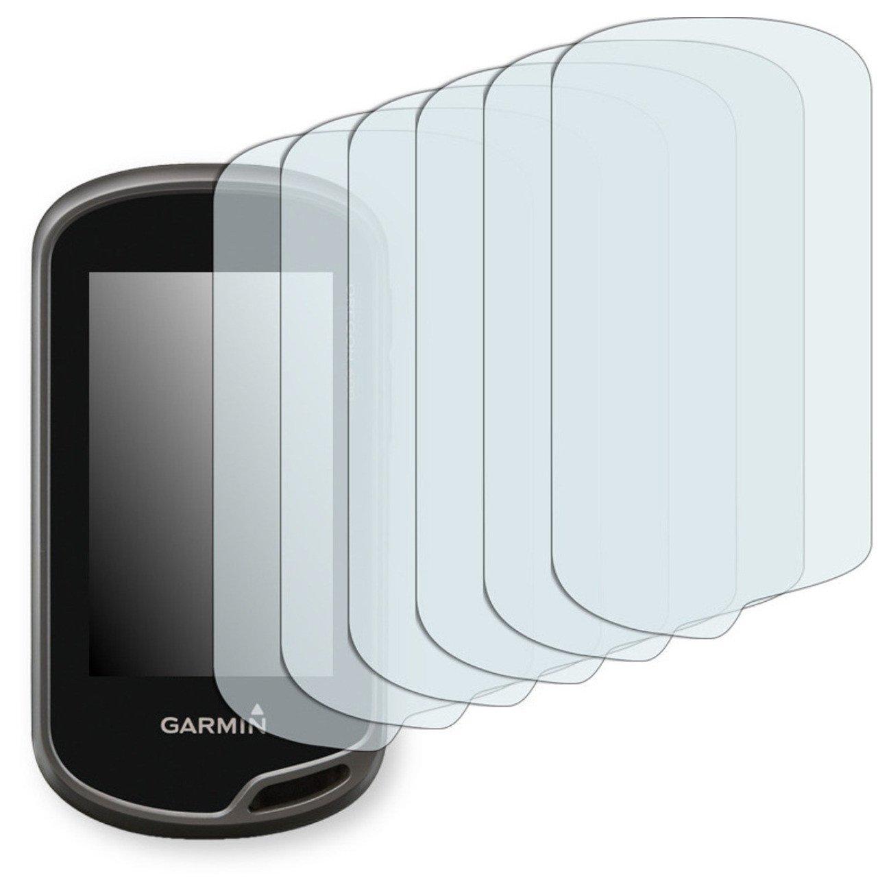GOLEBO 6x Anti-Glare screen protector for Garmin Oregon 650t (Anti-Reflex, Air pocket free application, Easy to remove)