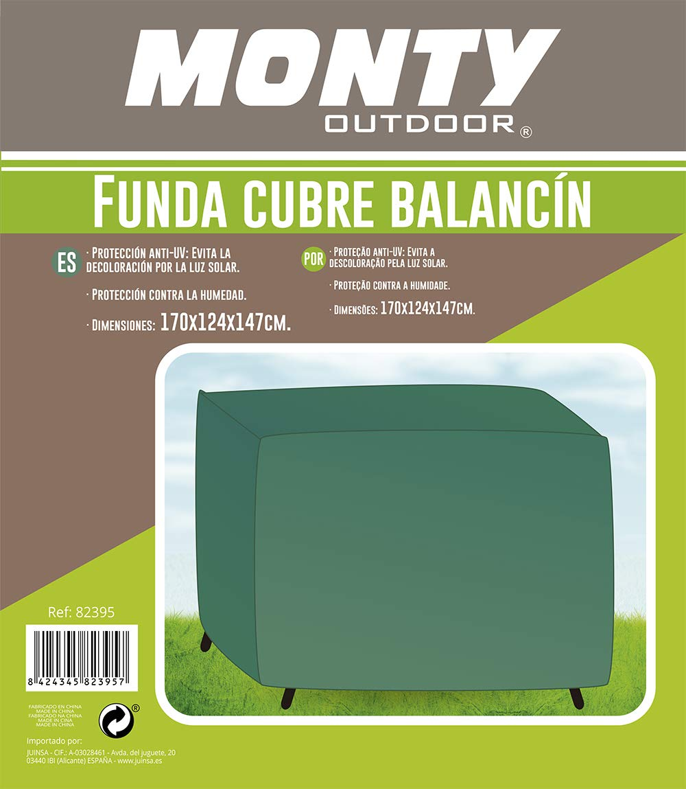 Ldk Garden Funda balancín Rafia Verde 124 X 147 X 170 cm: Amazon ...