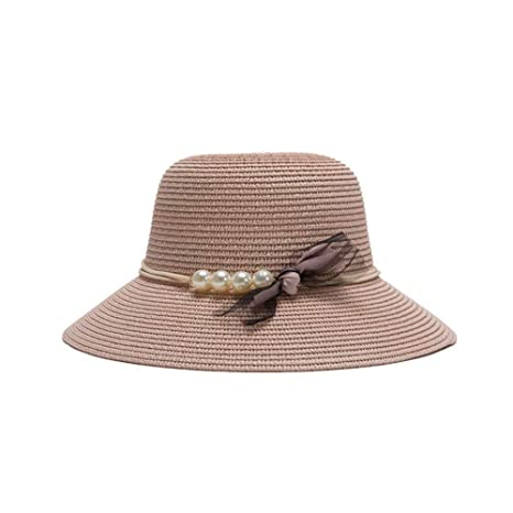 Eeayyygch Sombrero de Paja Sombrero de Paja Sombrero de Pescador Sombrero  de Sol Sombrero de Playa d598377580a