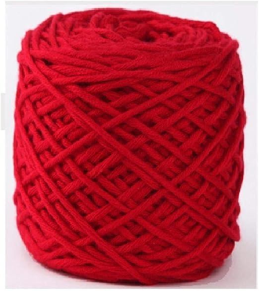 Línea de bufanda, hilo de lana de bufanda tejida, lana gruesa ...