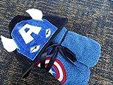 Personalized American Hero Hooded Towel