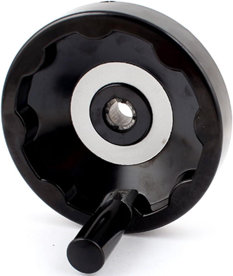 Fresadora 16 mm Di/ámetro 150 mm Di/ámetro de la rueda de mano empu/ñadura giratoria