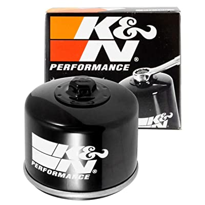 K&N Motorcycle Oil Filter: High Performance, Premium, Designed to be used with Synthetic or Conventional Oils: Fits Select BMW Motorcycles, KN-160: Automotive
